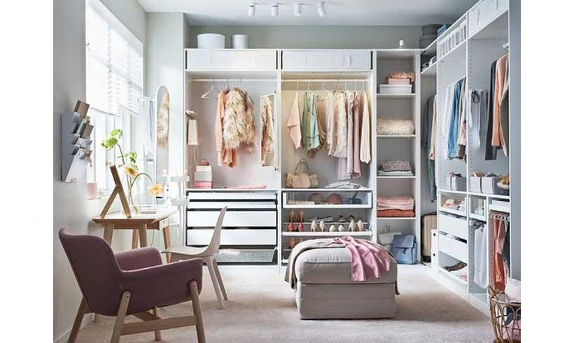 عکس اتاق لباس قشنگ