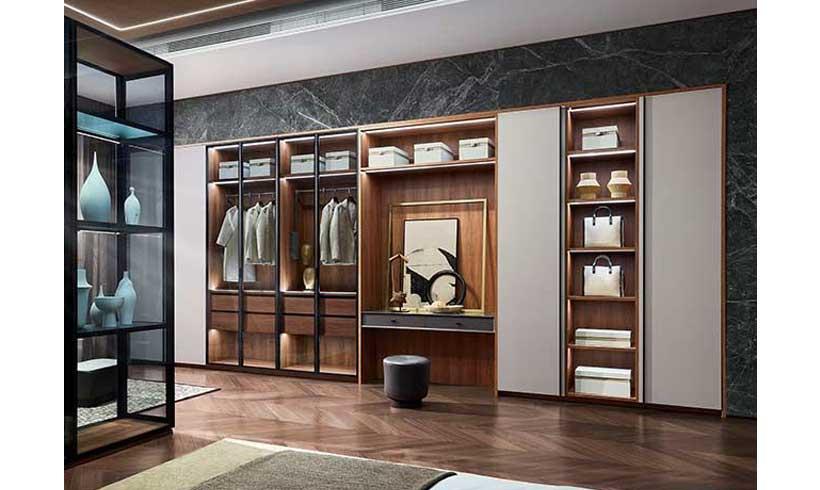 طراحی اتاق لباس پوشیدن در خانه