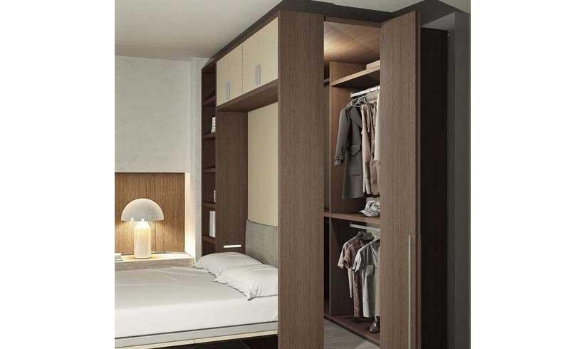 کلوزت روم در اتاق خواب