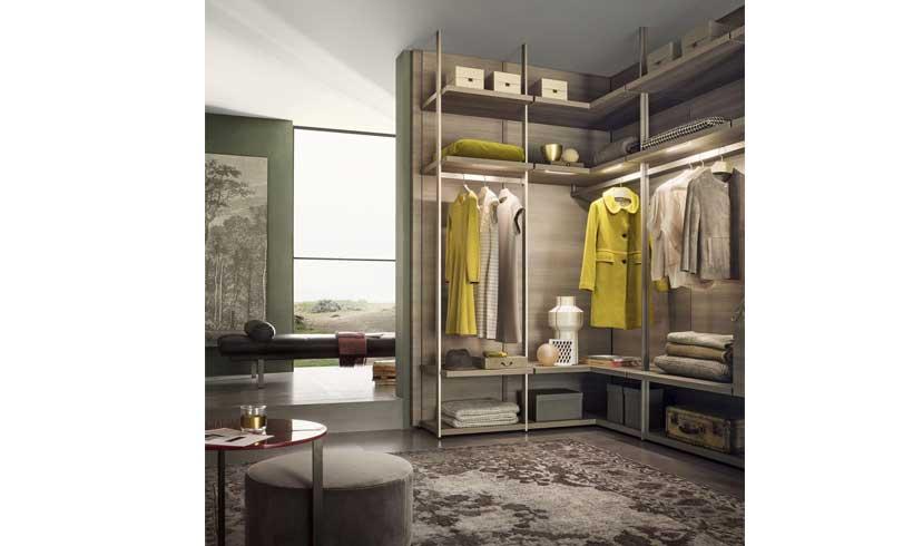 مدل طراحی اتاق لباس جدید